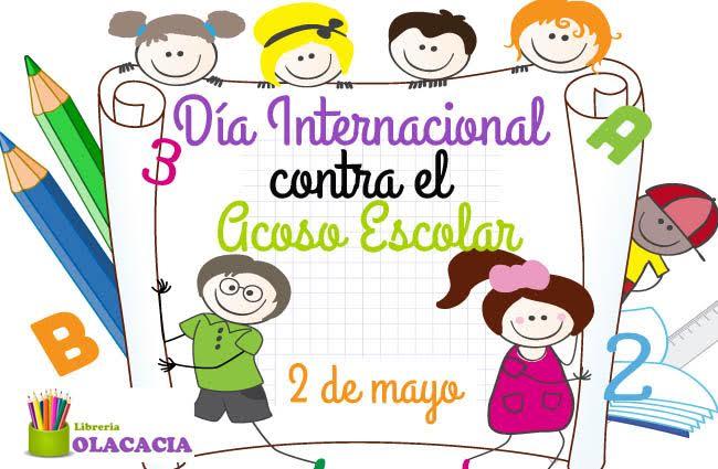 Resultado de imagen de dia mundial contra acoso escolar