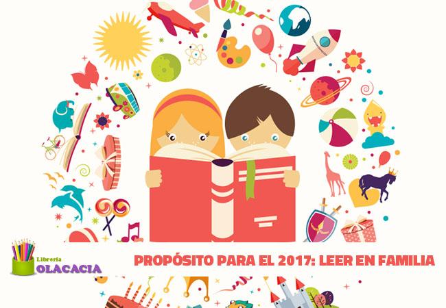Propósito Para El 2017: Leer En Familia